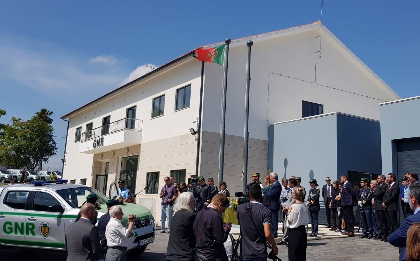 Inauguration of the new headquarters of GNR de Alcanena
